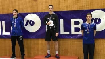 Jaka Ivančič drugi na turnirju do 17 let