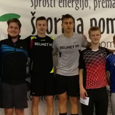 V Mariboru odigrali še zadnji članski turnir letos