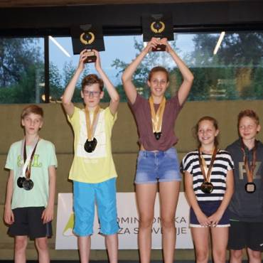 Z naslovi državnih prvakov še iz kategorije U13 in veteranov