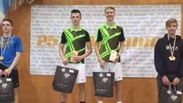 Jaka Ivančič z Miho Mastenom zmagovalec TEM Juniorja
