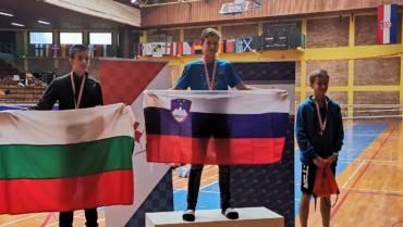 Zlata, srebrna in bronasta medalja v Zagrebu
