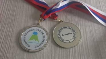 Letos s srebrno medaljo