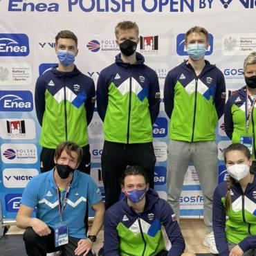Naši člani tekmovali na Poljskem